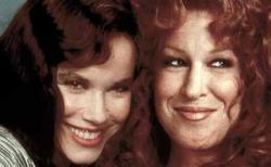 Barbara Hershey and Bette Midler in Beaches.
