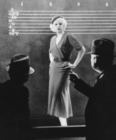 Jean Harlow as a