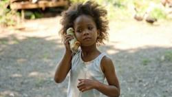 Quvenzhane Wallis in Beasts of the Southern Wild.