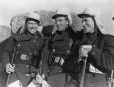 Ray Milland, Gary Cooper and Robert Preston in Beau Geste.