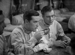 Ray Milland and Gary Cooper in Beau Geste.