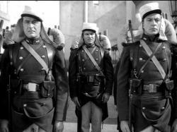 Ray Milland, Robert Preston and Gary Cooper in Beau Geste.