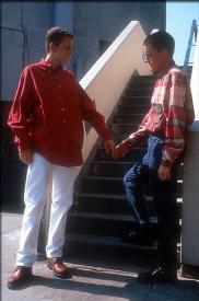 Glenn Berry and Scott Neal in Beautiful Thing