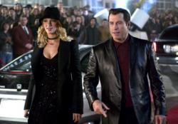Uma Thurman and John Travolta in Be Cool.