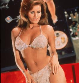 Raquel Welch is only in a few scenes, but you will remember them.