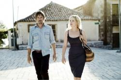 Ethan Hawke and Julie Delpy in Before Midnight.