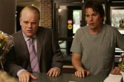 Philip Seymour Hoffman and Ethan Hawke in Before the Devil Knows You're Dead.