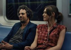 Mark Ruffalo and Kiera Knightley in Begin Again.