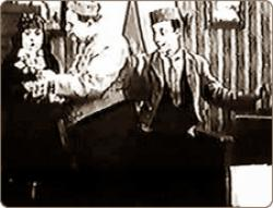 Buster Keaton and Fatty Arbuckle in The Bell Boy.