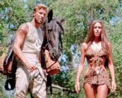 James Franciscus and Linda Harrison in Beneath the Planet of the Apes