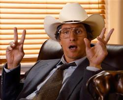 Matthew McConaughey as Danny Buck Davidson in Bernie