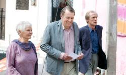 Judi Dench, Tom Wilkinson and Bill Nighy in The Best Exotic Marigold Hotel.