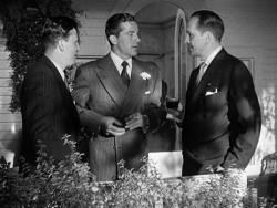 Harold Russell, Dana Andrews and Fredric March in The Best Years of Our Lives