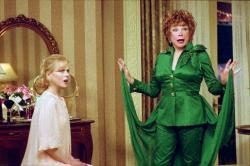 Nicole Kidman and Shirley MacLaine Bewitched.
