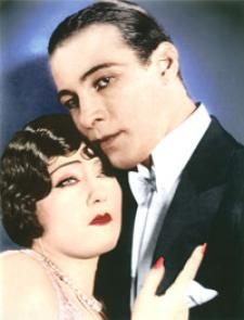 Gloria Swanson and Rudolph Valentino; The greatest leading actress and actor of the 1920s.
