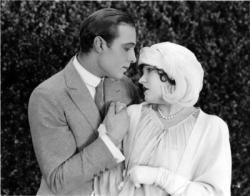 Rudolph Valentino and Gloria Swanson in Beyond the Rocks.