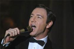 Kevin Spacey as Bobby Darin in Beyond the Sea.