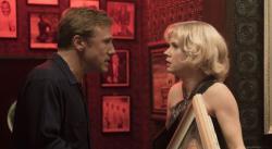 Christoph Waltz and Amy Adams in Big Eyes.