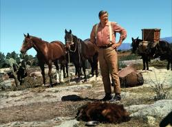 John Wayne in Big Jake.