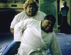 Martin Lawrence and Anthony Anderson in Big Momma's House.