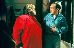 Ella Mitchell and Paul Giamatti in Big Momma's House.