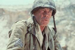 Lee Marvin in The Big Red One.