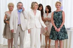 Christine Ebersole , Robert De Niro, Diane Keaton, Ana Ayora, Patricia Rae and Katherine Heigl in The Big Wedding.