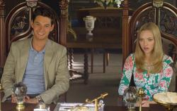 Ben Barnes and Amanda Seyfried in The Big Wedding