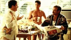 Nathan Lane, Hank Azaria and Robin Williams in The Birdcage.