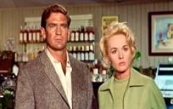 Rod Taylor and Tippi Hedren in The Birds.