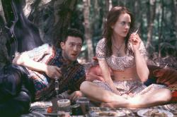 Vincent Cassel and Nicole Kidman in Birthday Girl.