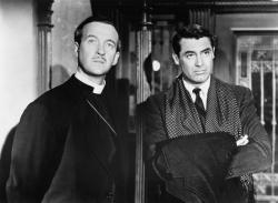 David Niven and Cary Grant in The Bishop's Wife.