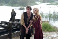 Eddie Redmayne and Caprice Van Houten in Black Death