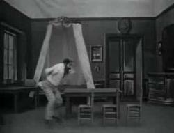 Georges Melies in The Black Imp.