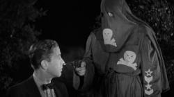 Humphrey Bogart recites their evil oath in Black Legion.