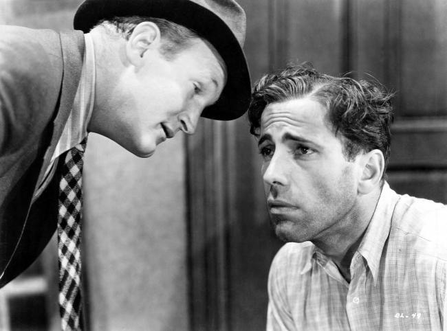 Dick Foran and Humphrey Bogart in Black Legion