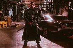 Wesley Snipes in Blade.
