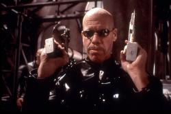 Ron Perlman in Blade II.