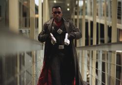 Wesley Snipes looking cool as hell as Blade.