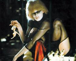 Daryl Hannah makes one truly frightening femme fatale in Blade Runner.