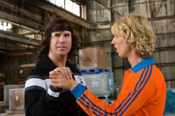 Will Ferrell and Jon Heder in Blades of Glory.