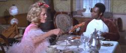 Madeline Kahn and Cleavon Little in Mel Brooks' Blazing Saddles.
