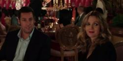 Adam Sandler and Drew Barrymore in Blended
