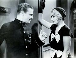 James Cagney and Joan Blondell in Blonde Crazy.