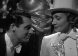 Cary Grant and Marlene Dietrich in Blonde Venus.