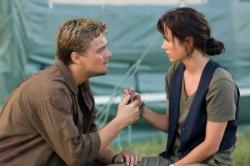 Leonardo DiCaprio and Jennifer Connelly in Blood Diamond.