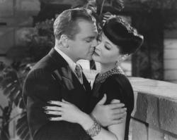 James Cagney and Sylvia Sidney in Blood on the Sun.