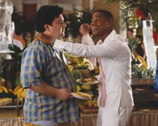 Horatio Sanz and Cuba Gooding Jr in Boat Trip.