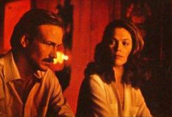 William Hurt and Kathleen Turner in Body Heat