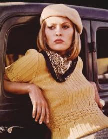Faye Dunaway in Bonnie and Clyde.